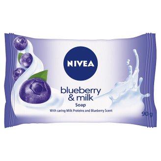 NIVEA Blueberry & Milk Mydło 90 g