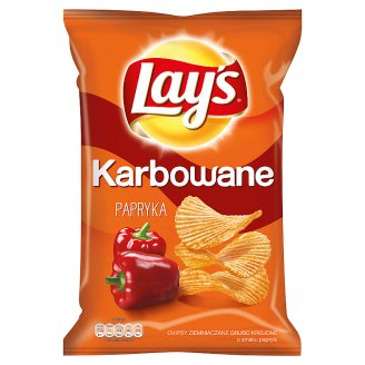 Lay's Karbowane Pepper Flavoured Potato Crisps 150 g