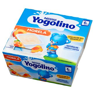 Nestlé Jogolino Apricot Dessert after 6 Months Onwards 400 g (4 Pieces)