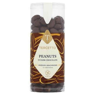 Tercetto Peanuts in Dark Chocolate 280 g