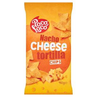 Poco Loco Chipsy kukurydziane o smaku sera 450 g