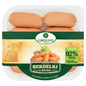 Lukullus Ham Thin Sausages 300 g