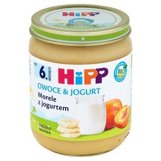 HiPP BIO Owoce & Jogurt Apricots with Yoghurt after 6. Months Onwards 160 g