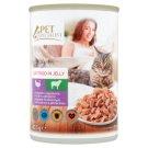 Tesco Pet Specialist Karma dla dorosłych kotów z indykiem i jagnięciną w galaretce 415 g