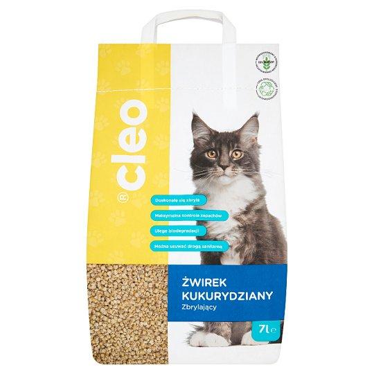 Cleo Żwirek kukurydziany zbrylający 7 l