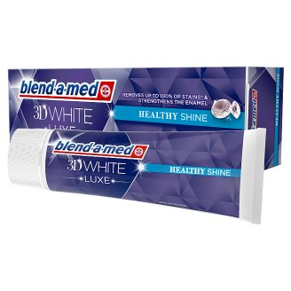Blend-a-med 3D White Luxe Toothpaste 75ml, Healthy Shine