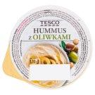 Tesco Hummus z oliwkami 120 g