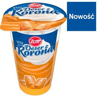 Zott Deser z Koroną Caramel and Whipped Cream Dessert 175 g