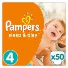 Pampers Sleep&Play rozmiar 4 (Maxi), 50 pieluszek