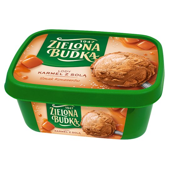 Zielona Budka Salted Carmel Ice Cream 1000 ml