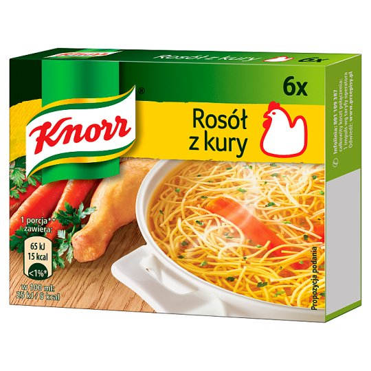 Knorr Chicken Stock Cube 60 g (6 Cubes)