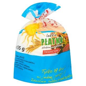 Lekkie płatki zbożowo-ryżowe tradycyjne 55 g (10 sztuk)