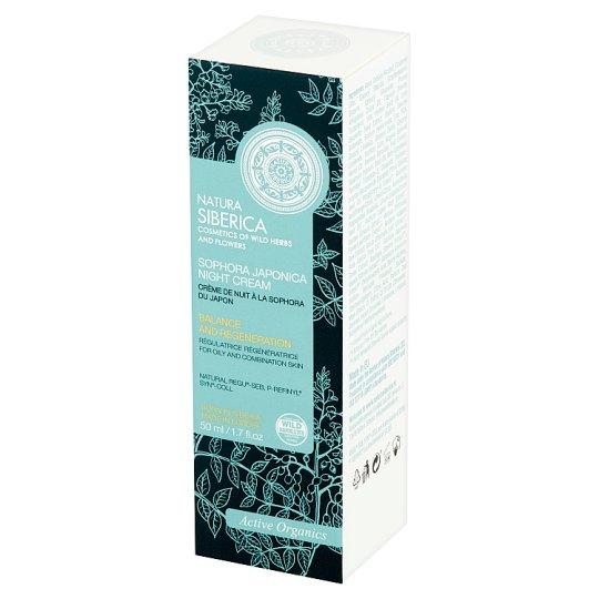 Natura Siberica Krem na noc z soforą japońską 50 ml