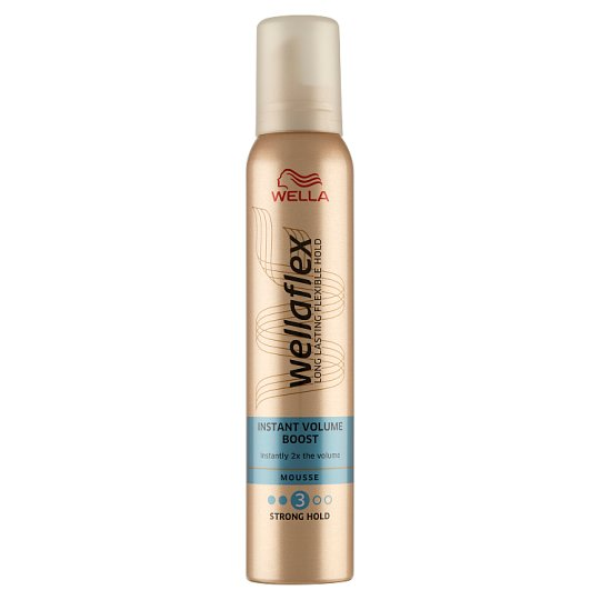 Wella Wellaflex Instant Volume Boost Hair Mousse 200 ml