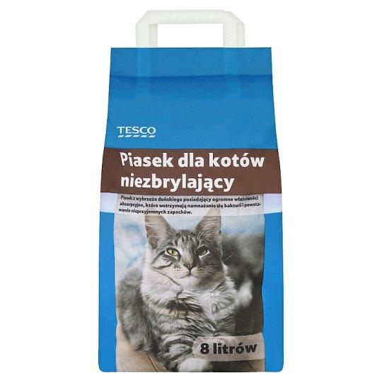 Tesco Piasek dla kotów niezbrylający 8 l
