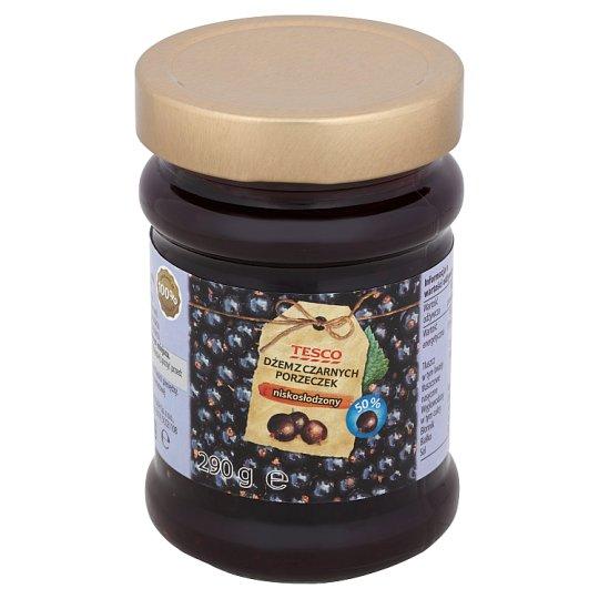 Tesco Low Sugar Blackcurrant Jam 290 g