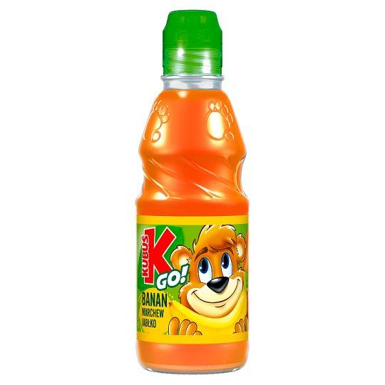 Kubuś Go! Banana Carrot and Apple Juice 300 ml
