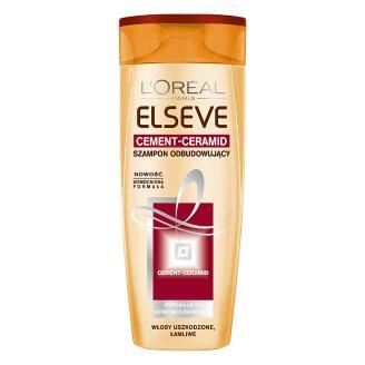 L'Oreal Paris Elseve Cement-Ceramid Szampon odbudowujący do włosów łamliwych 400 ml