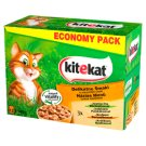 Kitekat Delicate Flavors in a Juicy Sauce Complete Cat Food 1.2 kg (12 x 100 g)