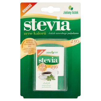 Zielony listek Stevia Natural Sweetener 13.8 g (250 Tablets)