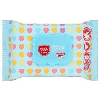 Tesco Loves Baby Niezwykle miękkie chusteczki bezzapachowe 56 sztuk