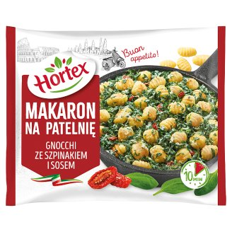 Hortex Gnocchi with Spinach Sauce Stir Fry Pasta 450 g