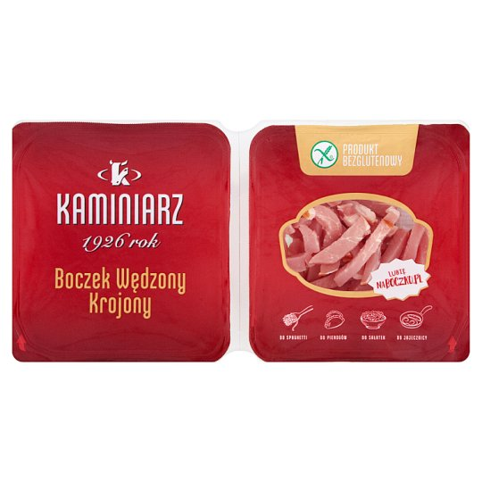 Kaminiarz Cut Smoked Bacon 2 x 90 g