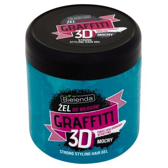 Bielenda Graffiti 3D Strong Styling Hair Gel 250 g