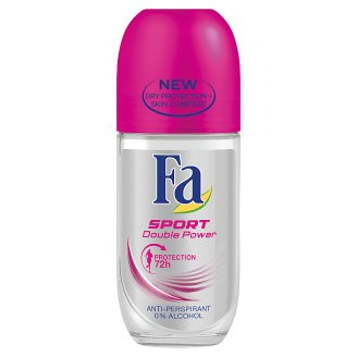 Fa Sport Double Power Antyperspirant w kulce 50 ml