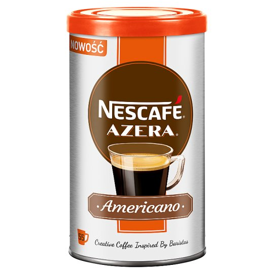 Nescafé Azera Americano Instant Coffee and Finely Ground Grain 100 g