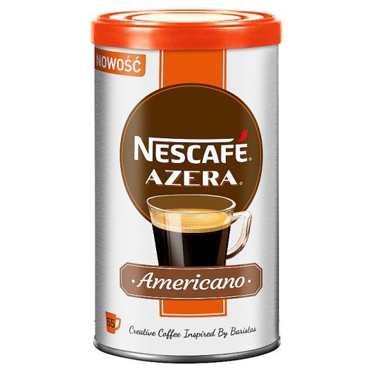Nescafé Azera Americano Kawa rozpuszczalna i drobno zmielone ziarna 100 g