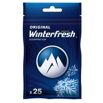 Winterfresh Original Sugarfree Chewing Gum 35 g (25 Pieces)