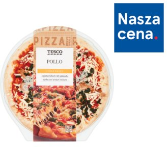 Tesco Pollo Pizza 414 g