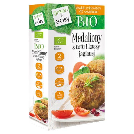Bio Medallions from Tofu and Millet Groats 190 g (2 x 95 g)
