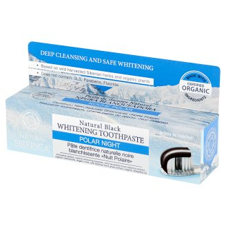 Natura Siberica Polar Night Natural Black Whitening Toothpaste 100 g