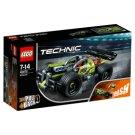 LEGO Technic Żółta wyścigówka 42072