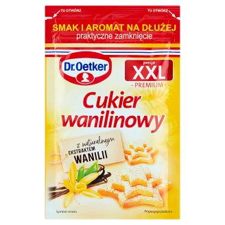 Dr. Oetker XXL Portion Vanillin Sugar 43 g