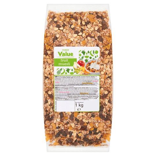 Tesco Value Fruit muesli 1 kg