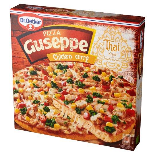 Dr. Oetker Guseppe Smaki Świata Chicken Curry Style Pizza 375 g