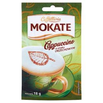 Mokate Caffetteria Cappuccino o smaku orzechowym 18 g