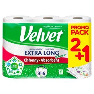Velvet Najdłuższy z nadrukiem Paper Towel 2 Rolls