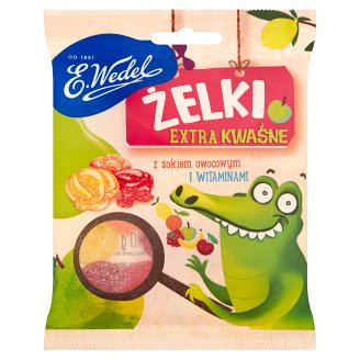 E. Wedel Extra Sour Fruit Jellies 90 g