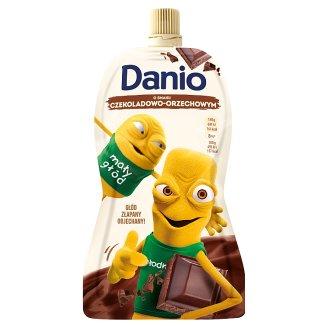 Danone Danio Serek homogenizowany o smaku czekoladowo orzechowym 140 g