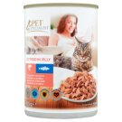 Tesco Pet Specialist Salmon and Pollock in Jelly Food for Adult Cats 415 g