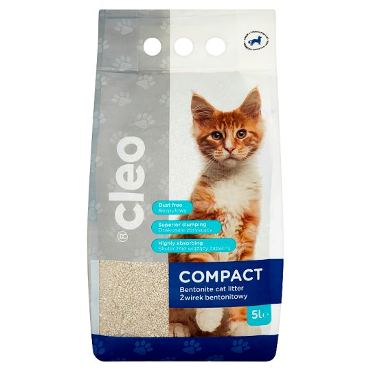 Cleo Compact Żwirek bentonitowy 5 l