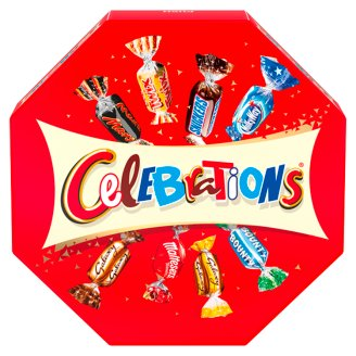 Celebrations Hollow Milk Chocolate Wafers with Chocolates in Miniature 186 g