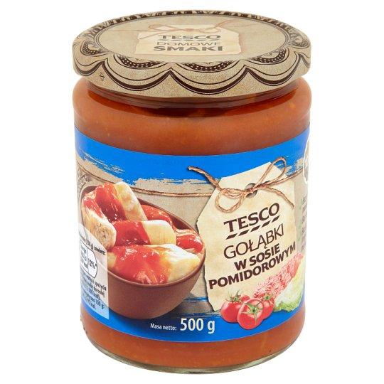 Tesco Gołąbki w sosie pomidorowym 500 g