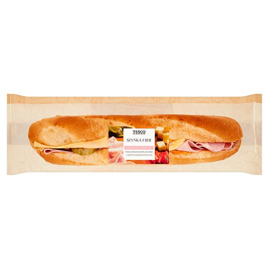 Tesco Ham and Cheese Baguette 214 g