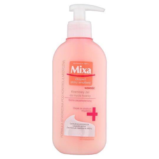 Mixa Kremowy żel do mycia twarzy 200 ml
