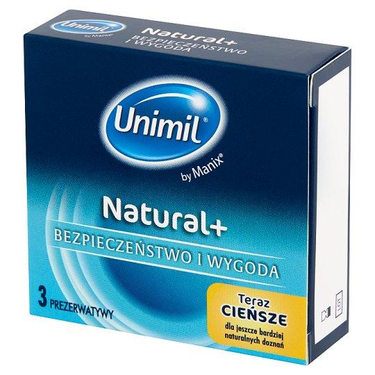 Unimil Natural Condoms 3 Pieces